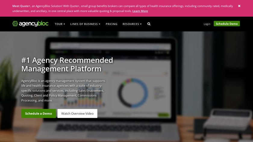 AgencyBloc Landing Page