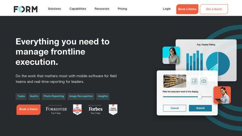FORM.com Landing Page