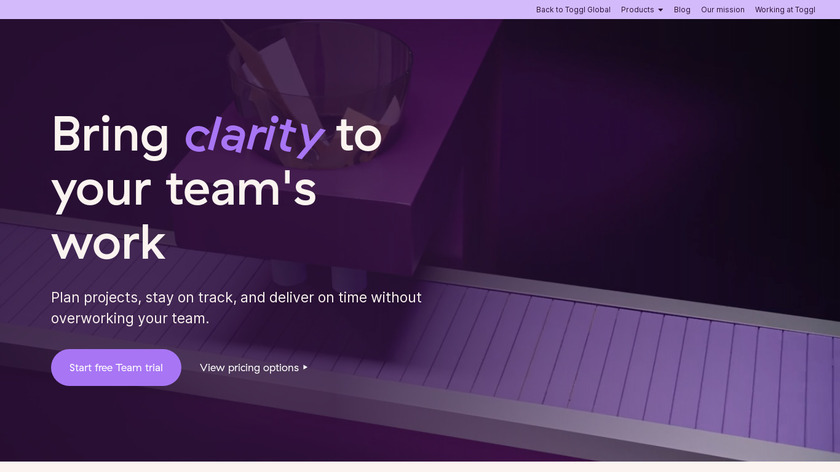 Teamweek Landing Page