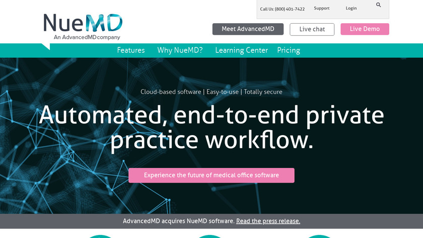 NueMD Landing Page