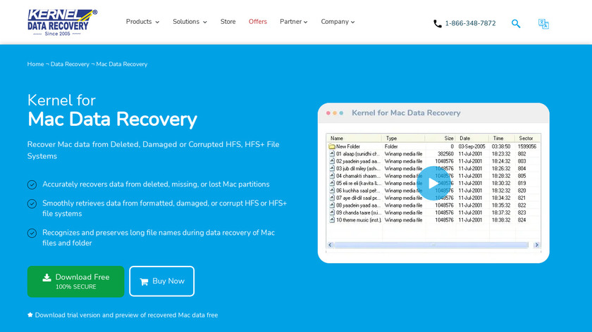 Kernel Recovery for Mac Landing Page