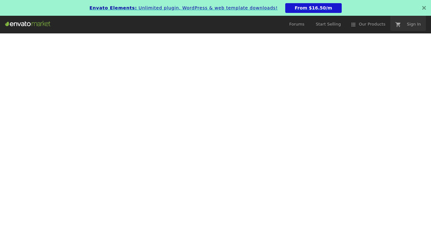 HTML5 multiple website builder Landing Page