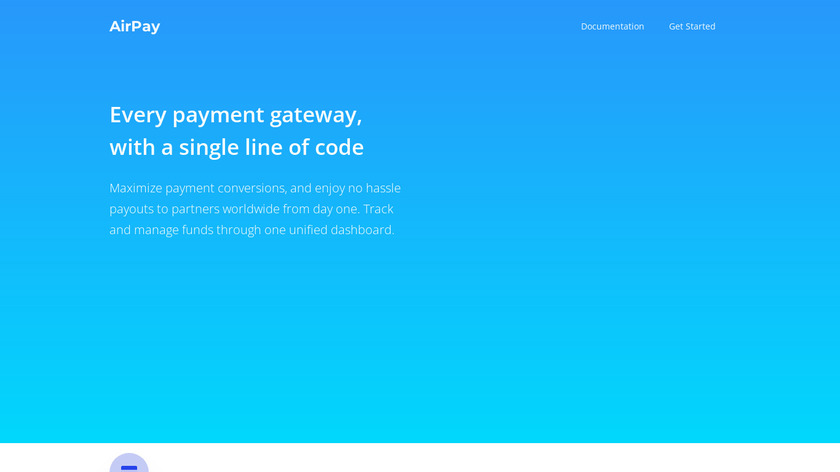 AirPay Landing Page