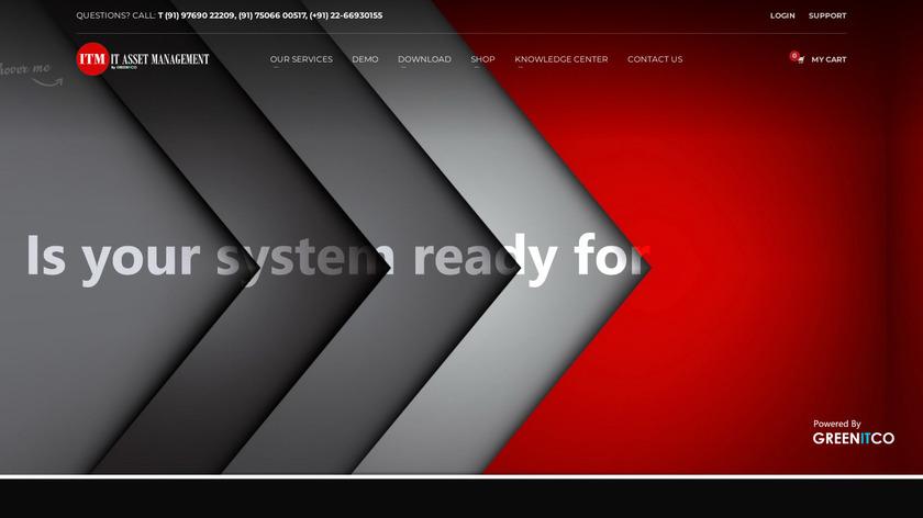 IT Asset Management Landing Page