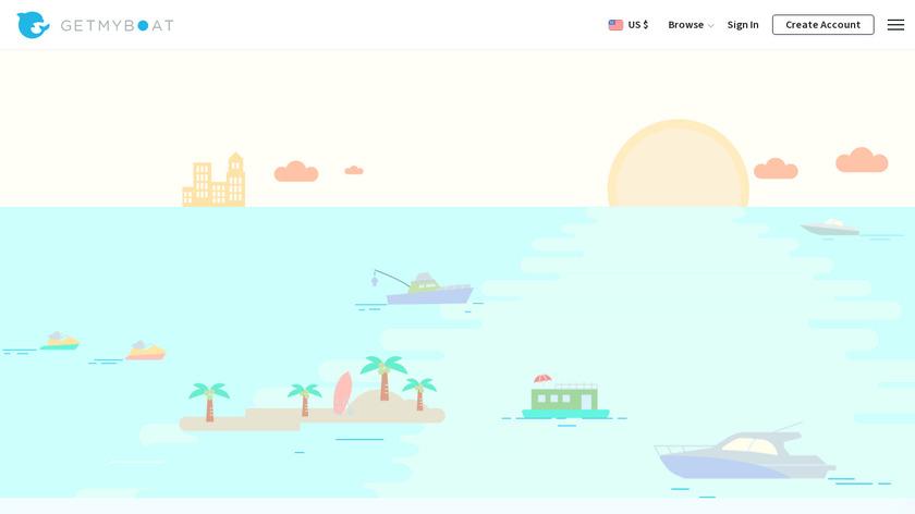 GetMyBoat Landing Page