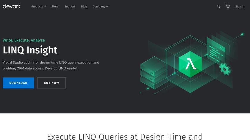 LINQ Insight Landing Page