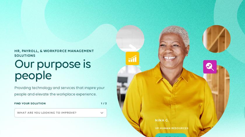 Optimum HRIS Landing Page