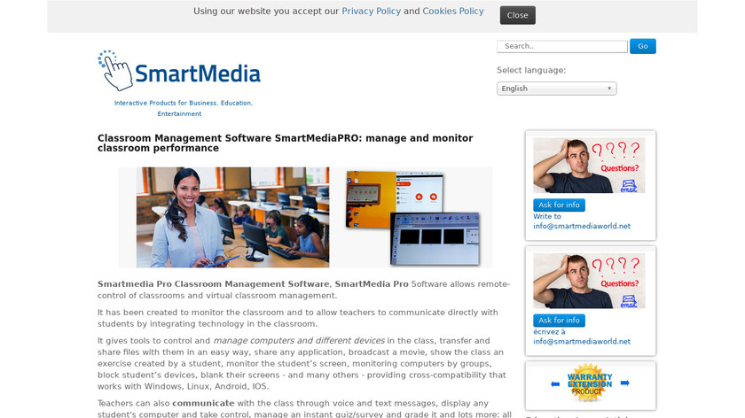 SmartMedia Pro Landing Page