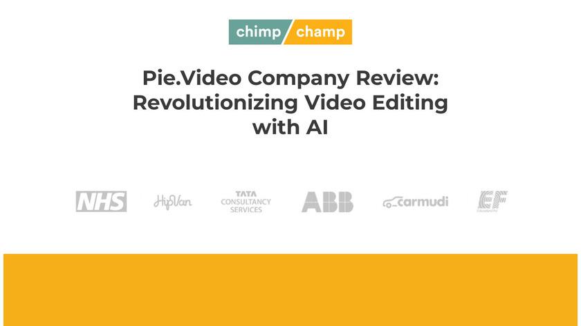Pie.video Landing Page