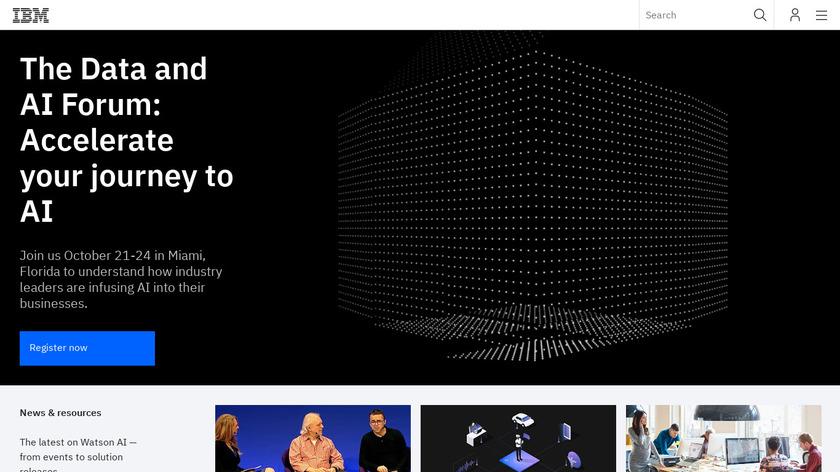 Watson Conversation Landing Page