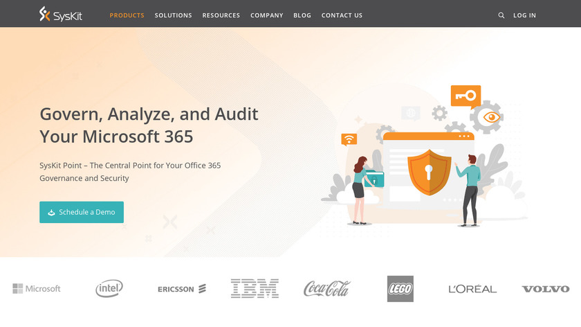 SysKit Security Manager Landing Page