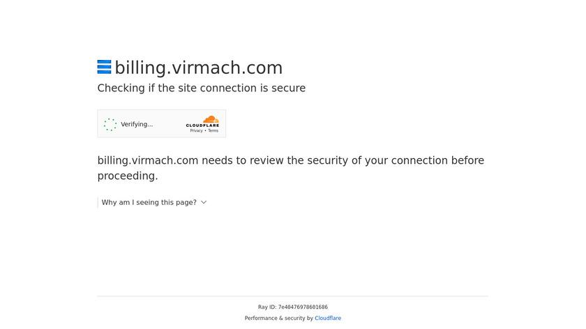 VirMach Landing Page