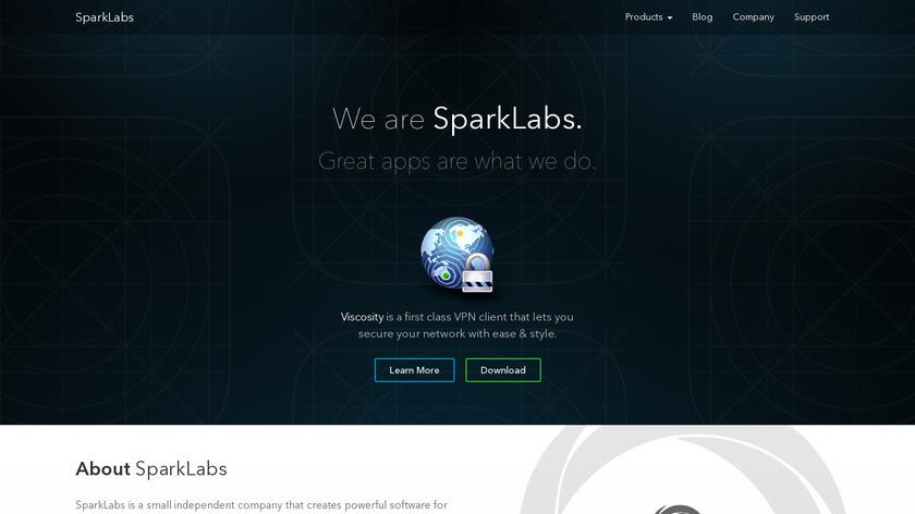 SparkLabs Landing Page