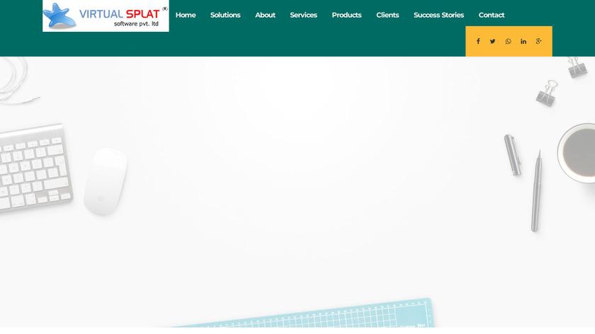VirtualSplat Landing Page