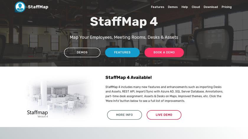 StaffMap Landing Page
