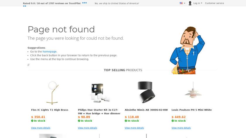 dmlights.com 3D Homeplanner Landing Page