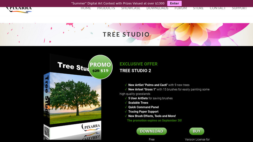 Tree Studio Landing Page