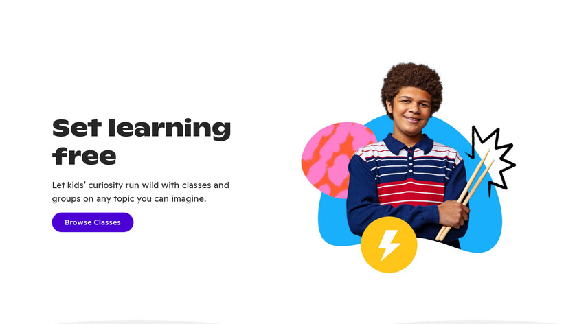 Outschool Landing Page
