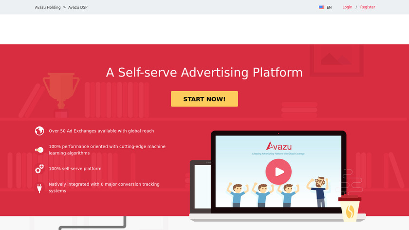 Avazu Mobile DSP Landing Page