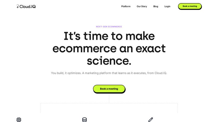 Cloud.IQ Landing Page