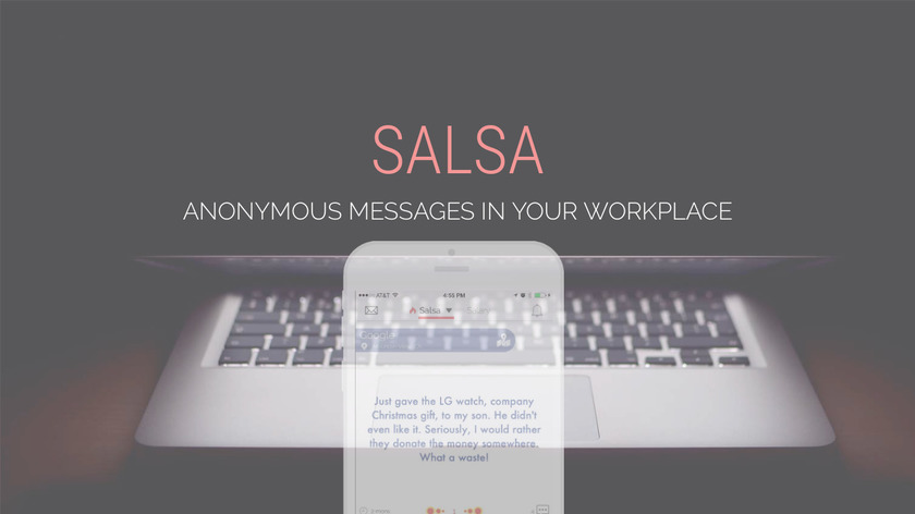 Salsa Landing Page