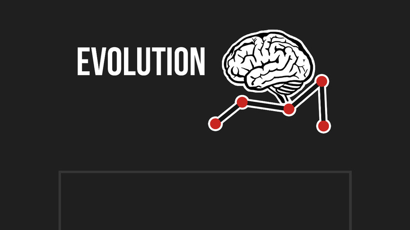 Evolution - Simulate learning Creatures Landing Page