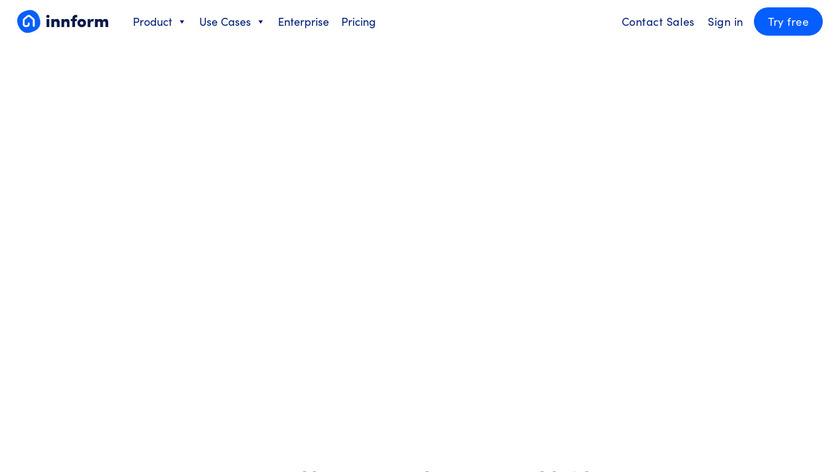Innform Landing Page