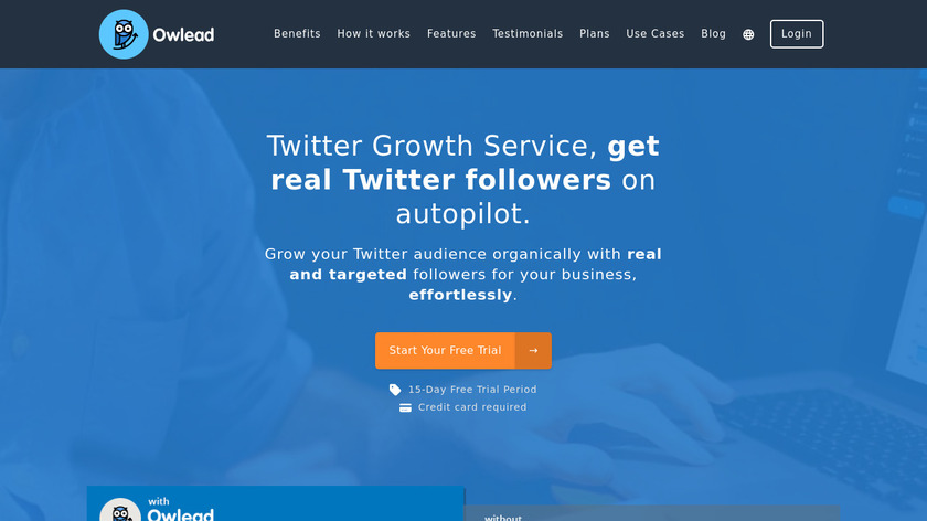 Owlead Landing Page