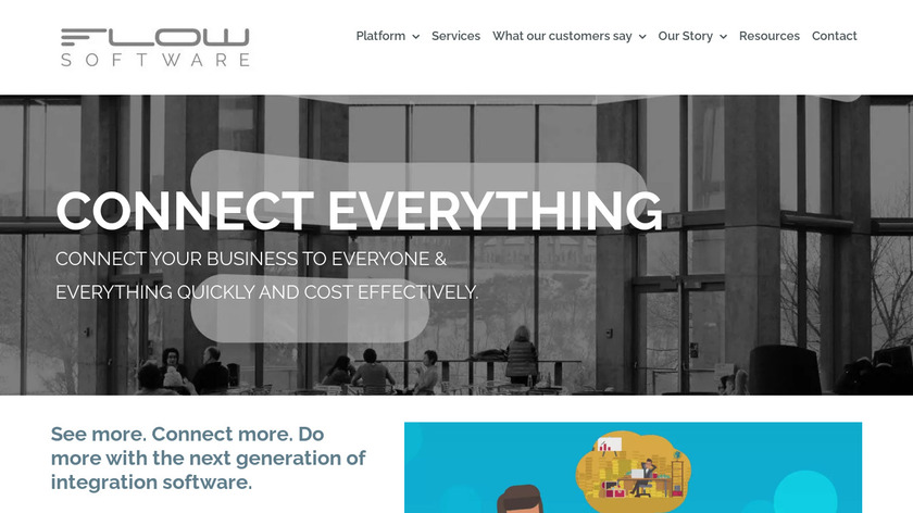 Flow Software Landing Page