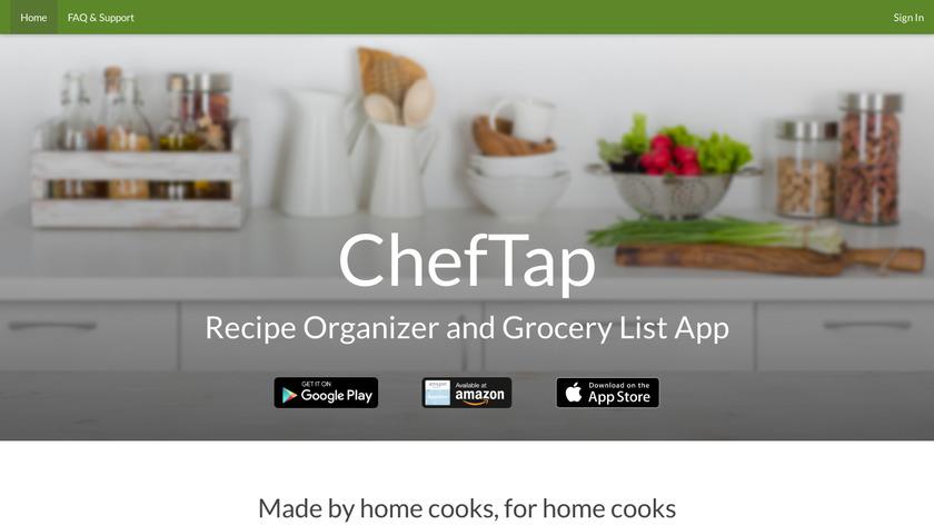 ChefTap Landing Page