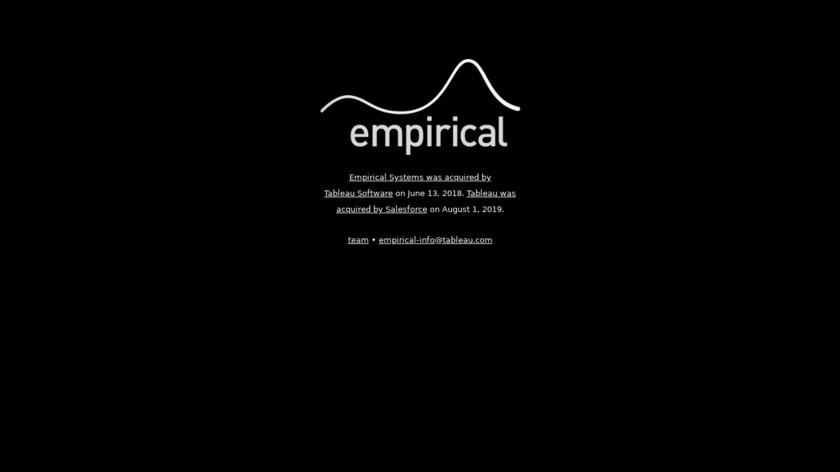 Empirical Landing Page