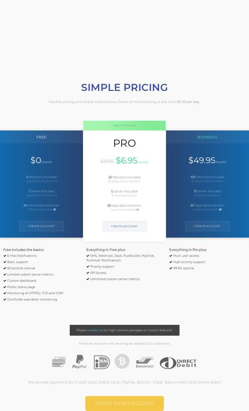 NIXStats Pricing