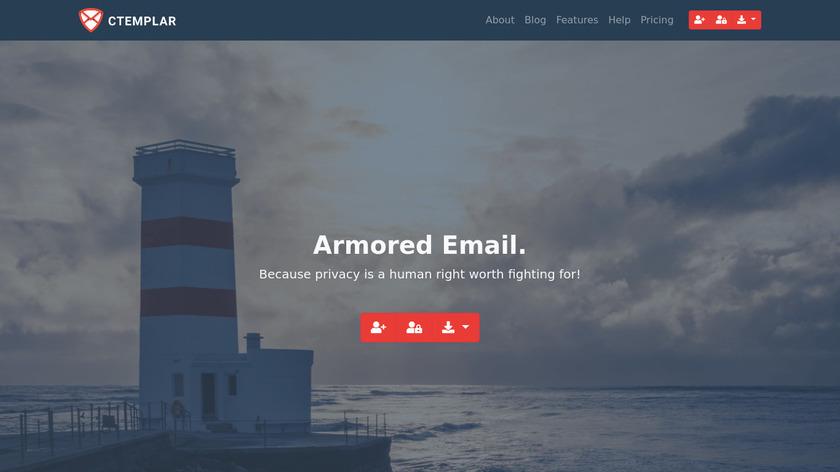 CTemplar Landing Page