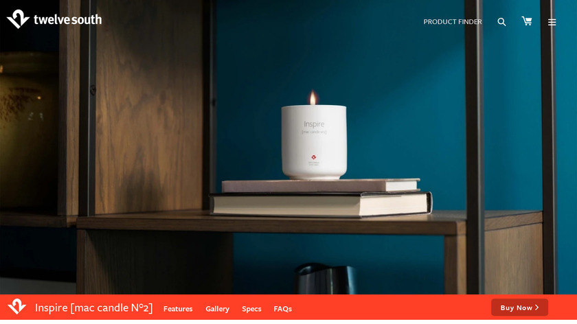 """New Mac Smell"" Candle Landing Page"