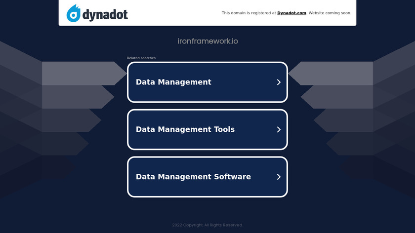Iron Landing Page