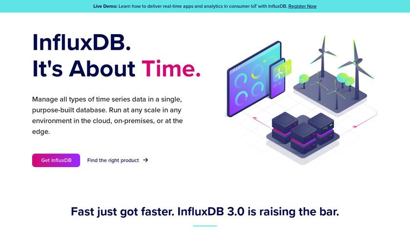 InfluxData Landing Page