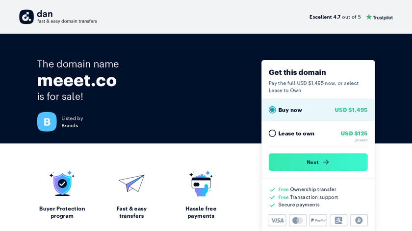 Meeet Landing Page