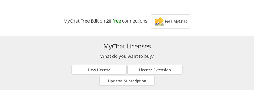 MyChat Pricing