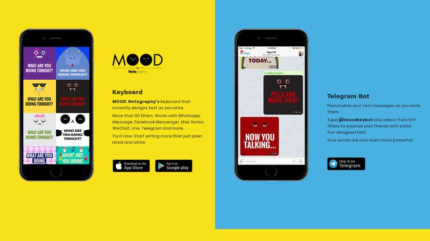 MOOD Landing Page