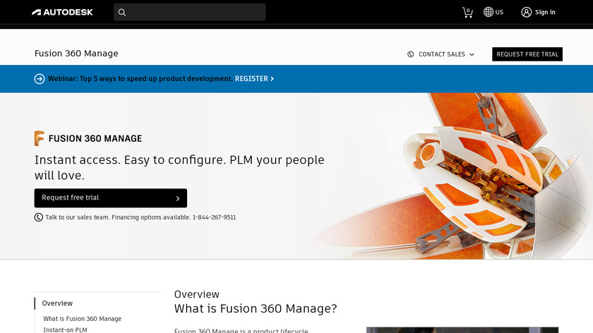 Fusion Lifecycle PLM Landing Page