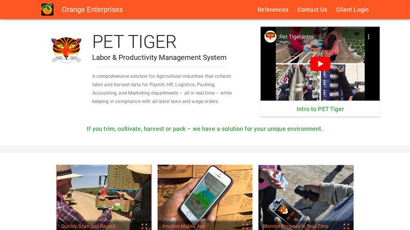 Tiger Jill Landing Page
