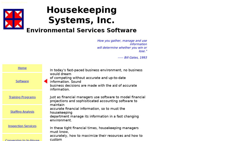 HSI Custodial Solutions Landing Page
