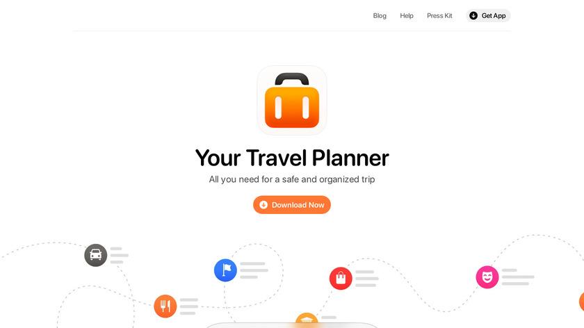 Tripsy Landing Page