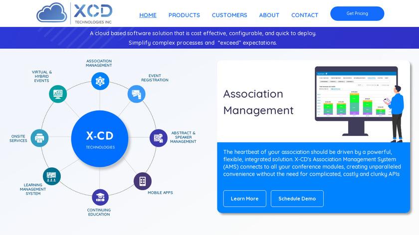 X-CD Landing Page