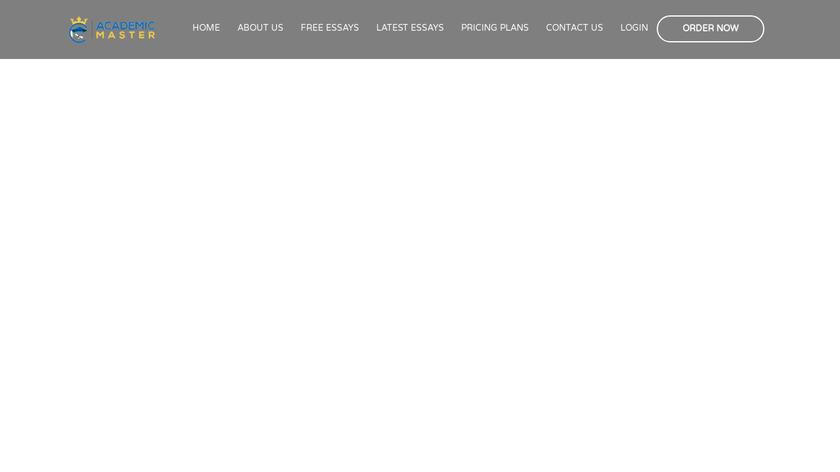 Academic Master Landing Page