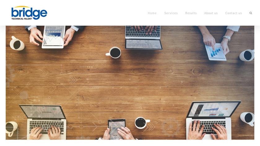 Bridge Talent Management Landing Page