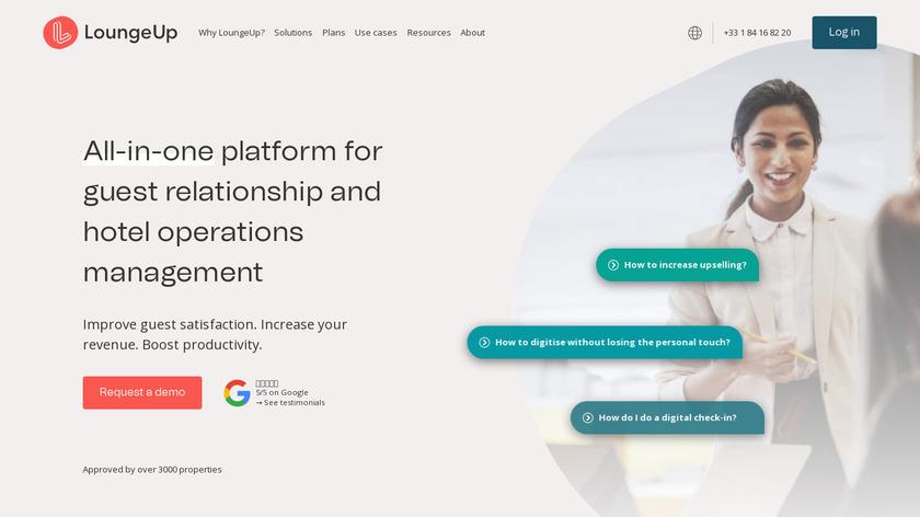 LoungeUp Landing Page