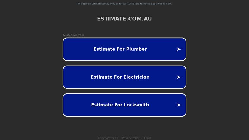 Estimaster2 Landing Page