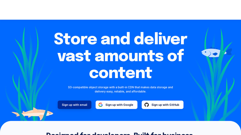 DigitalOcean Spaces Landing Page