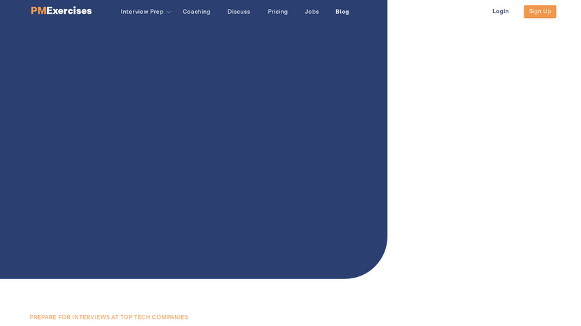Product Management Exercises Landing Page
